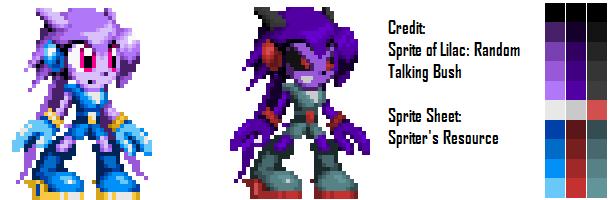 War Lilac Sprite Attempt by MasterPerryMartin