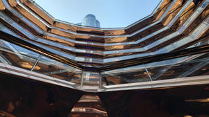 The Vessel in NYC - Inside