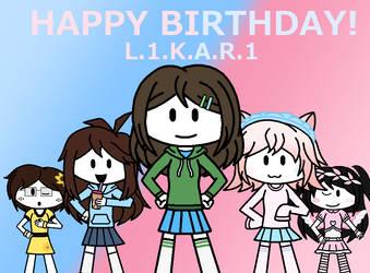 (Gift) Happy Birthday L1KAR1 2021