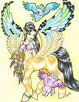 Golden centauress