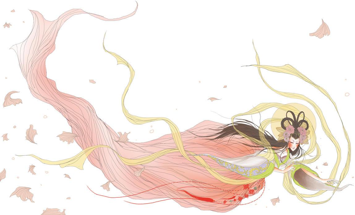 chinese fairy by youyanwuzhu