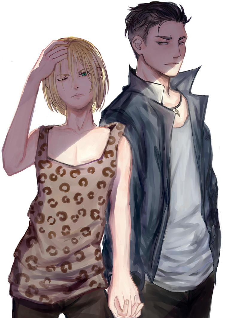 cool couple by youyanwuzhu