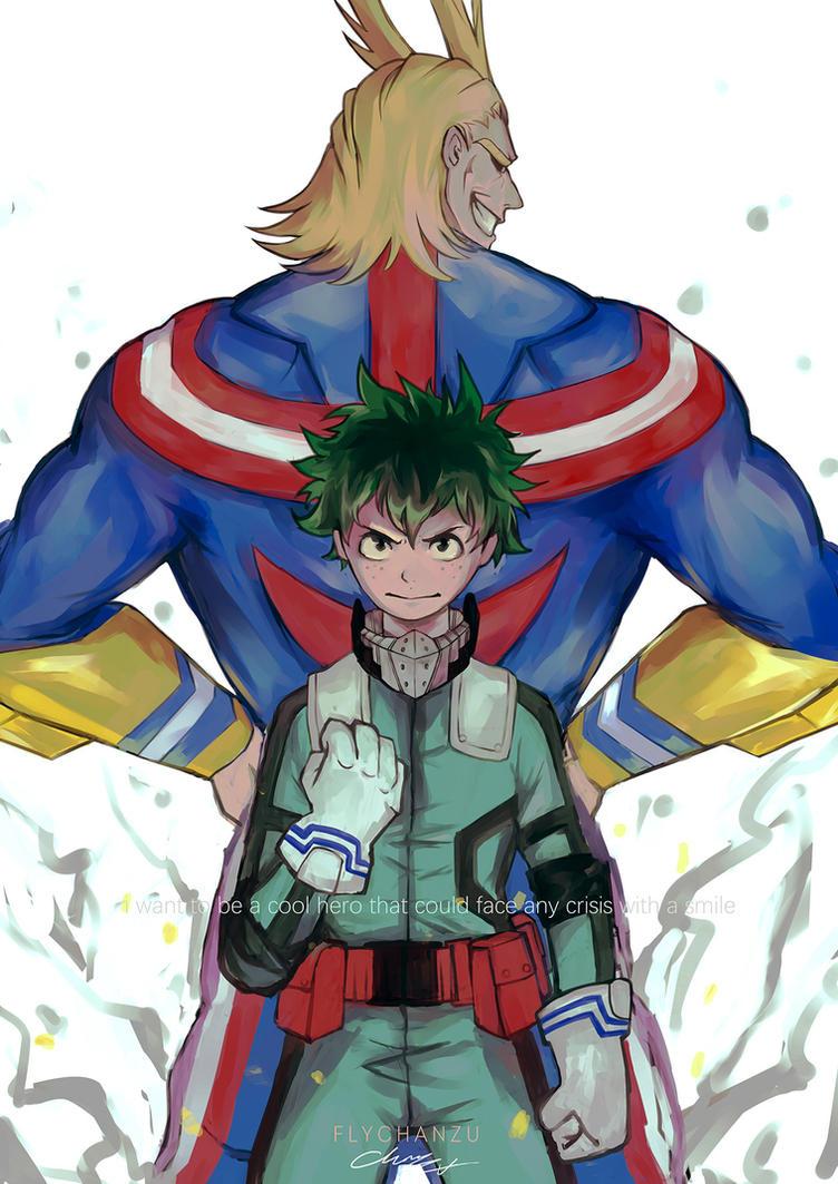 i want to be a hero like you by youyanwuzhu