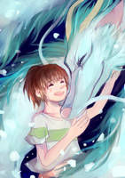 spirited away by youyanwuzhu
