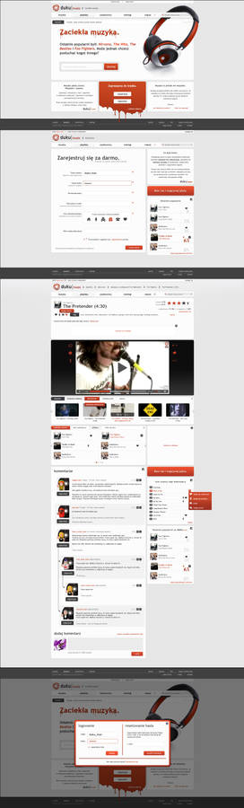 duku music - website