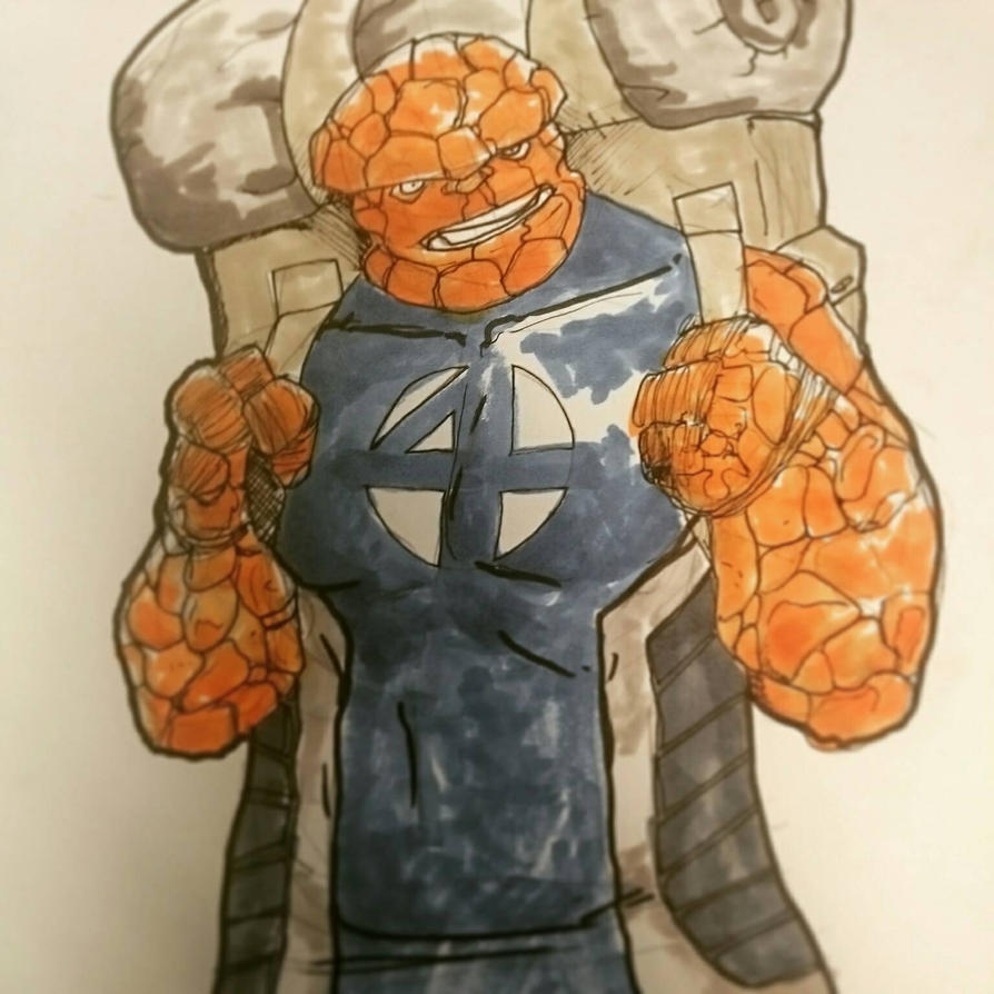 The Thing by ienvincible