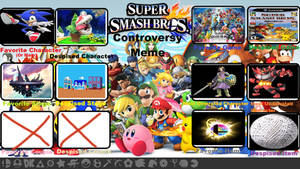 Super Smash Bros Controversy Meme-FF Way