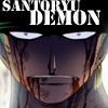 ICON: Santoryu Demon by onecoolcspamzu