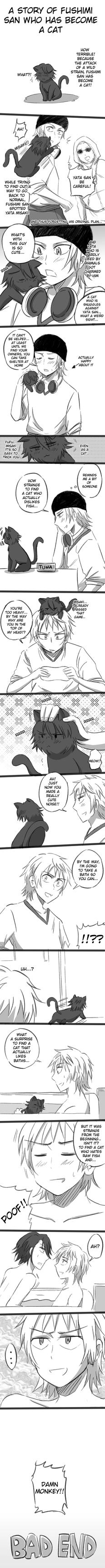 Sarumi: A story of Fushimi san who became a cat by kaguya-lamperouge