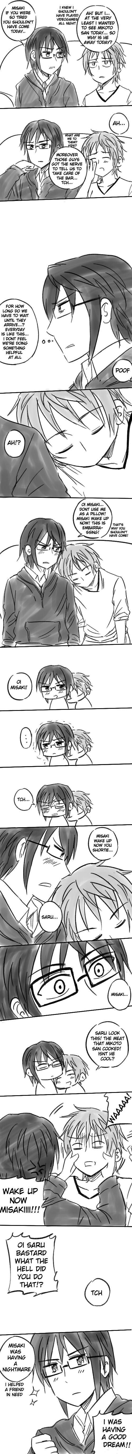 Sarumi comic by kaguya-lamperouge