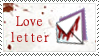Bloody Love Letter Stamp by Sirens-Serenade