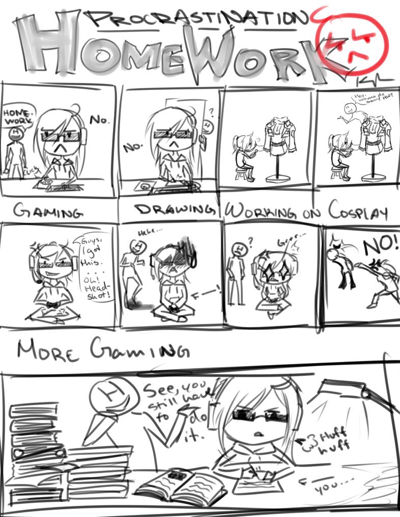 How not to procrastinate for homework