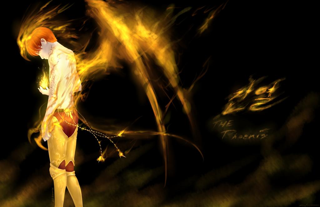 [EXO] CY - The Phoenix by Kiba-Shiruba