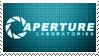Aperture Science Stamp