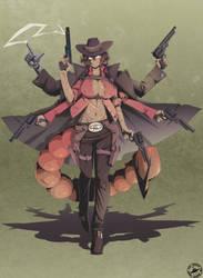 The Goddess Of Firearms, Kerventi