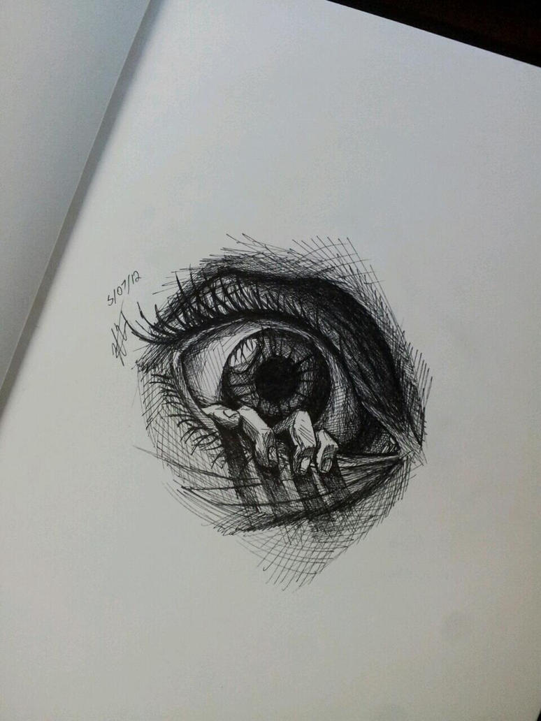 easy creepy pencil drawings - photo #42