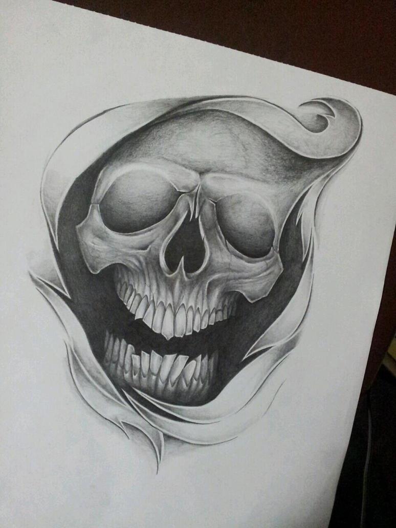 Random Skull by MagnaSicParvis on DeviantArt