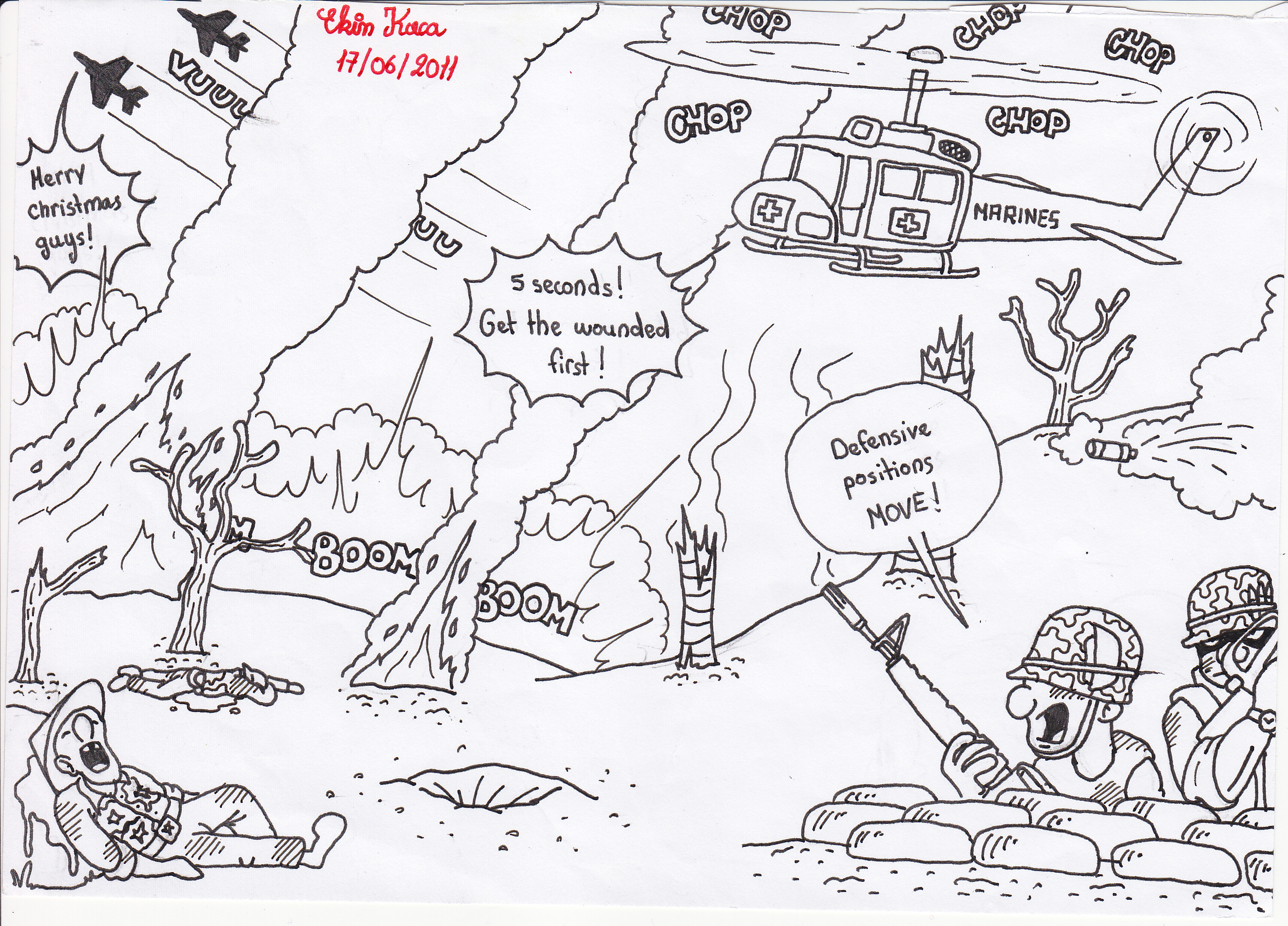 Vietnam war 2 by 1ringtofindthem on deviantart for Vietnam coloring pages