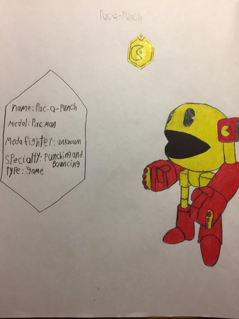 Medagamer PAC-a-punch by the-creature-of-art