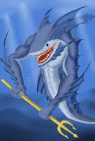 Serpent shark by Janji009