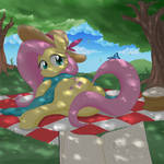 Picnic with Flutters
