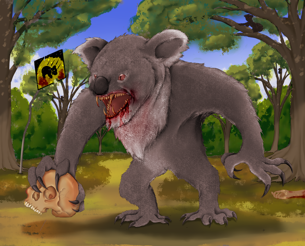 Drop bear by Janji009