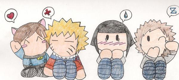 Chibi Cuteness by NarutoHinataLuvr