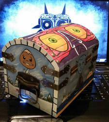 Majora's Mask themed chest - 7