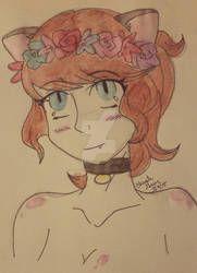 flower crown princess