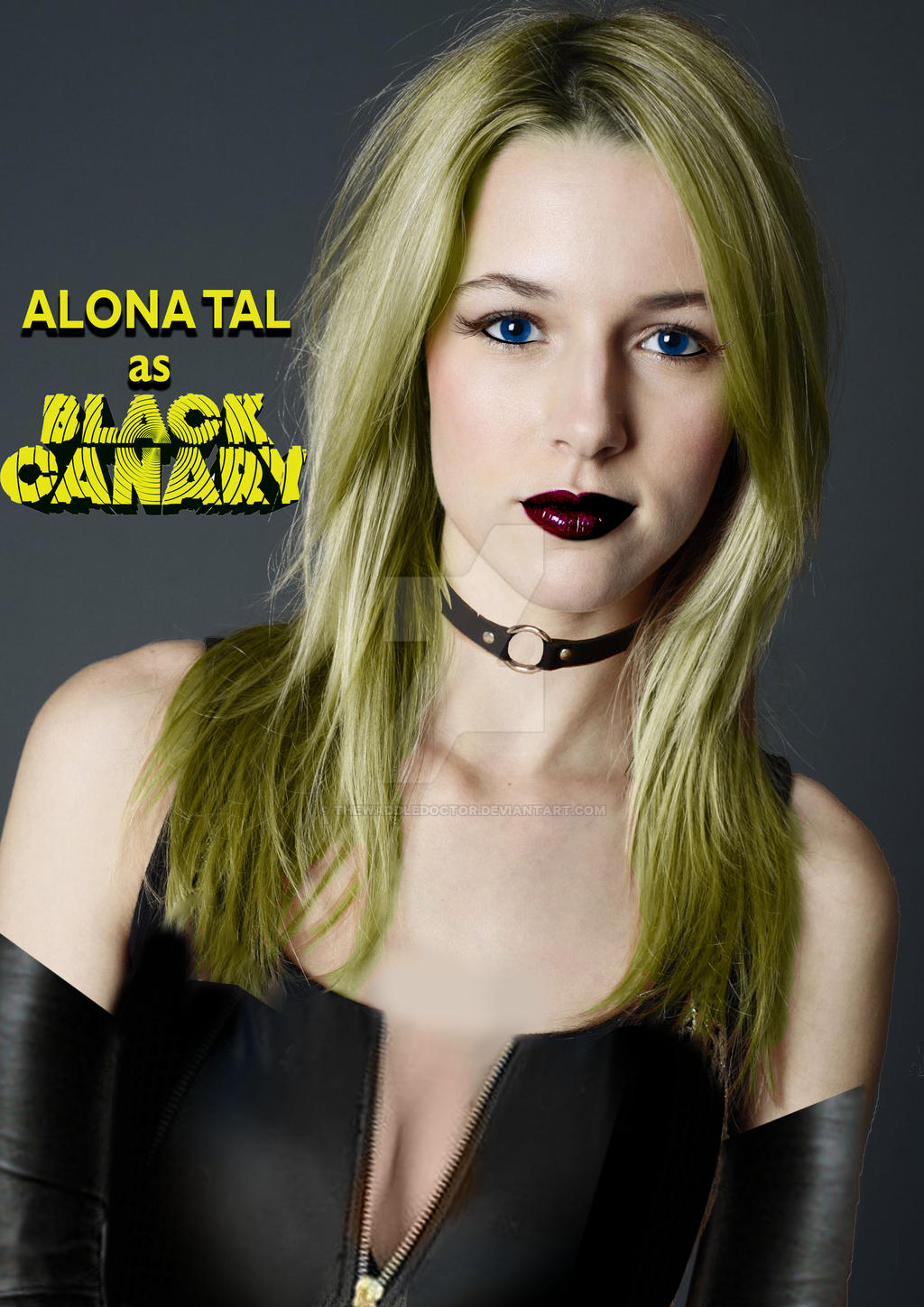 Black Canary Fancast Alona Tal By Thewaddledoctor On -8166