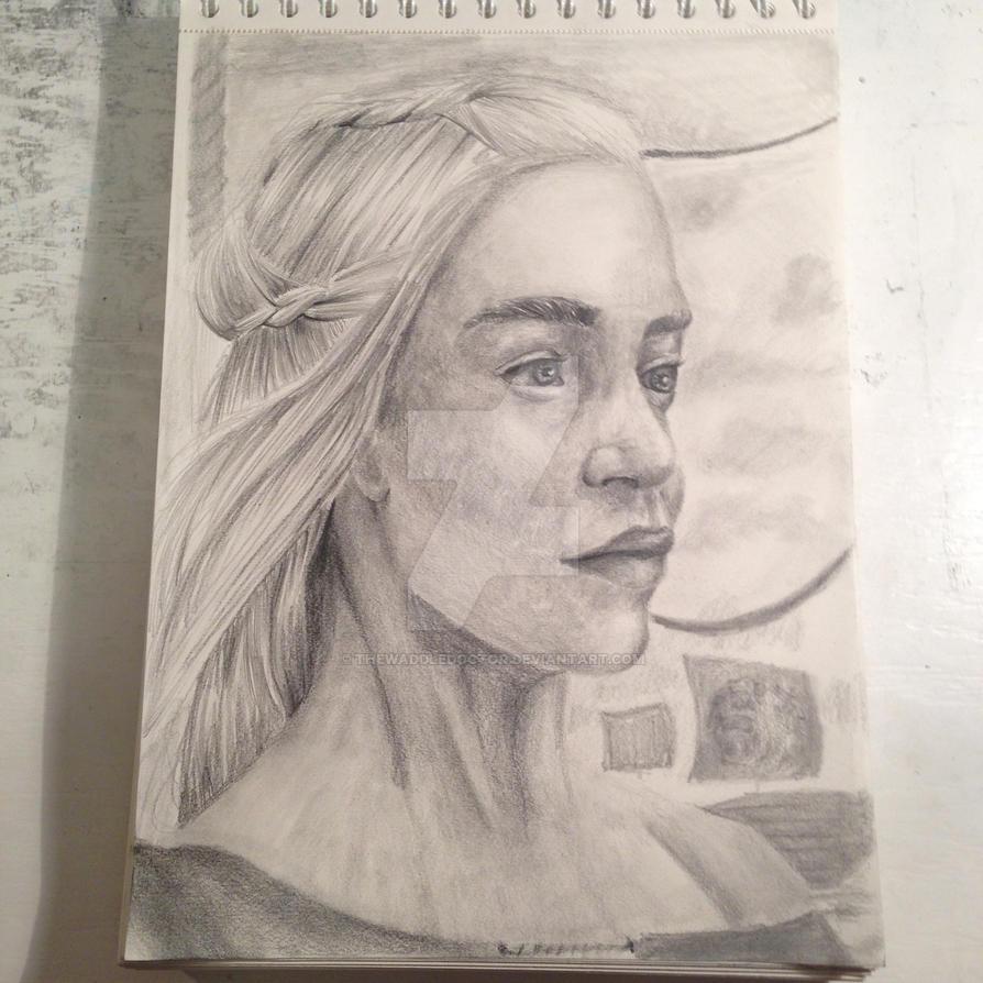 Daenerys by thewaddledoctor