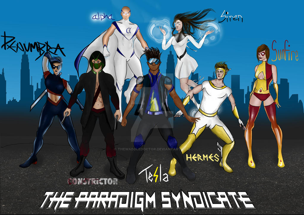 The Paradigm Syndicate by thewaddledoctor