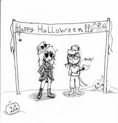Happy Halloween by SaphireNightmare8991