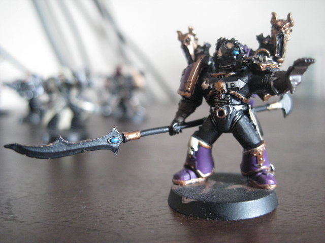 Noise Marine Champion by Portal-Lord on DeviantArt