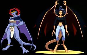 Demona and Elisa