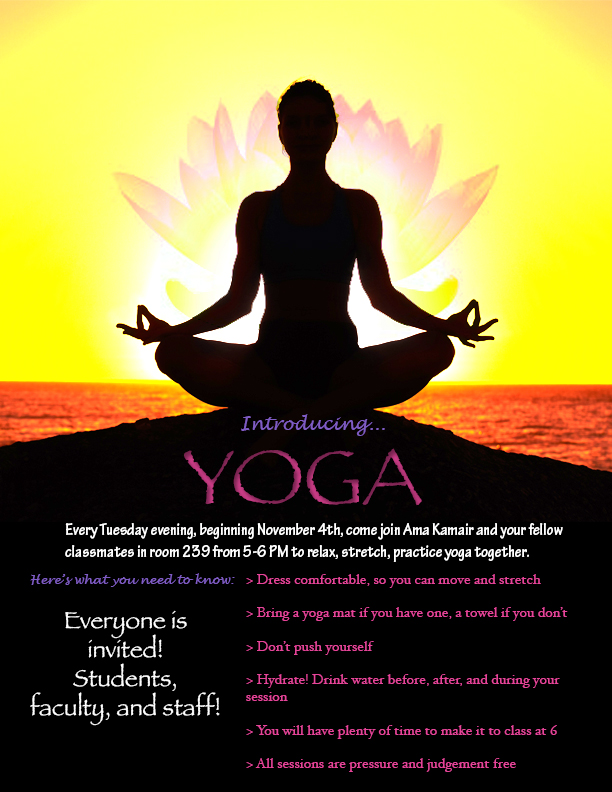 Yoga Flyer By Draconistheory On Deviantart