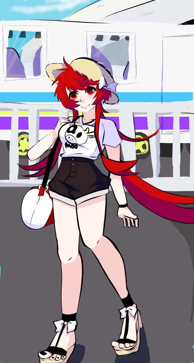 Lets go to the beach! by kuron-kuragari