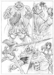 The Last Fight page 1 by Blackwalker80