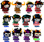 Sprite edit(s) - Trolls in dresses!