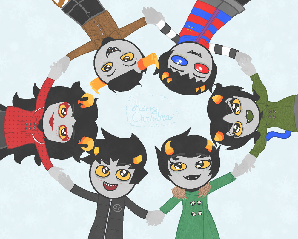 Homestuck - Winterstuck Contest Entry by N1ght1ng4L3