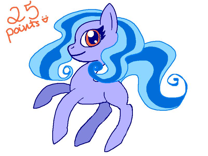 Adoptable - Pony #1 by N1ght1ng4L3