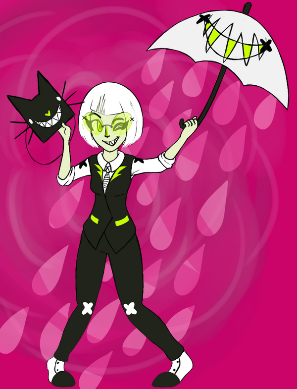Original - Lady Lime Cat by N1ght1ng4L3