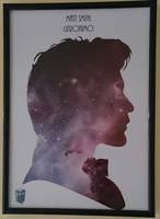 Doctor Who Silhouette Portrait by swiftflik