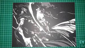 Afro Samurai Papercut Picture