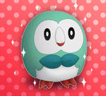 Morty the Baby Rowlet