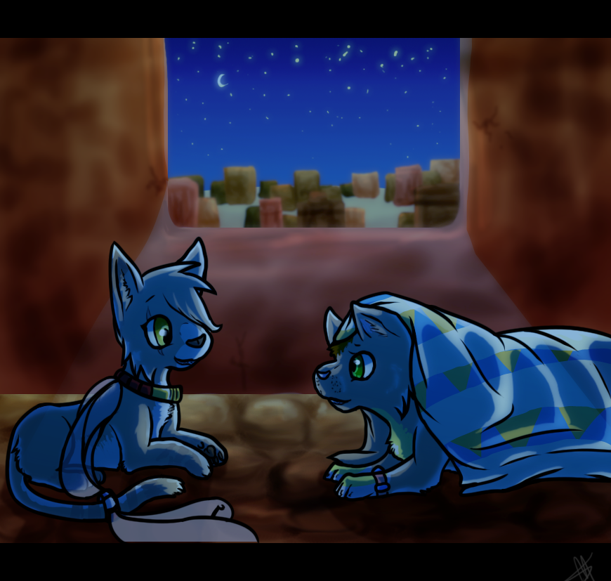 BGL - Egyptian Nights - Commission by Pandaskeeper