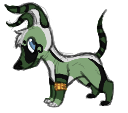 Tiagii -Character info Picture- by Pandaskeeper