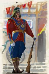 Palace Guard by TobiTrebeljahr
