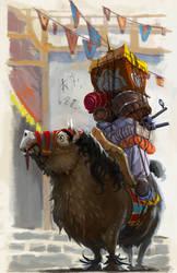 Palace Guard Pony by TobiTrebeljahr