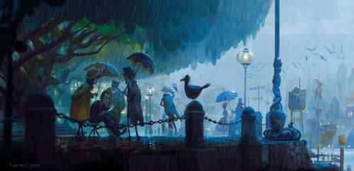 Rainy Plen Air by TobiTrebeljahr